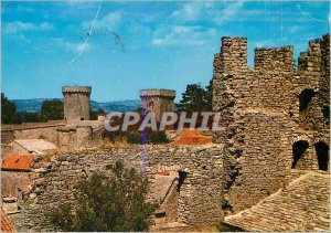 Postcard Modern Couvertoirade (Aveyron) Old Templar (XIIth) view of the Tower...