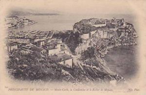 PRINCIPAUTE DE MONACO, Monte-Carlo, la Condamine et la Rocher de Monaco, 10-20s