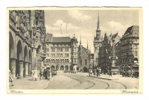 Marienplah, Munchen, Bavaria, Germany, PU