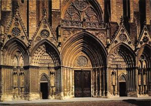 France Bayeux Portail central de la Cathedrale