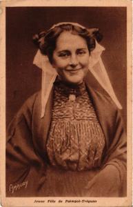 CPA Folklore - Bretagne - Jeune Fille de Paimpol-Tréguier (773200)