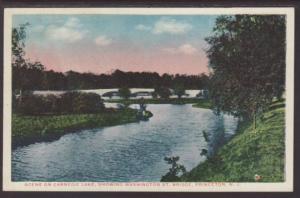 Carnegie Lake,Washington St Bridge,Princeton,NJ Postcard
