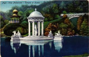 CPA AK PEGLI villa pallavicini tempio di Diana ITALY (530470)