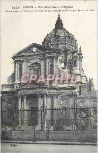 Old Postcard Paris Val de Grace Church