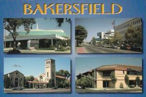 California Bakersfield Multi View
