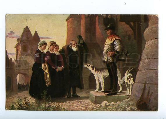 132014 Le droit du Seigneur BORZOI by POLENOV Vintage rus PC