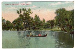 Lynn, Mass, Scene At Flax Pond