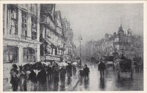 Staple Inn , LONDON , England , 00-10s Charcoal Sketch postcard ; Where Dicke...