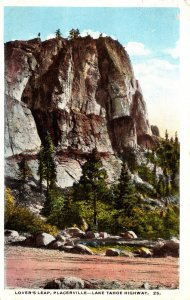 California Placerville Lake Tahoe Highway Lover's Leap