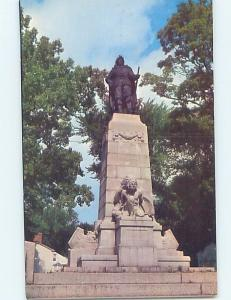 Pre-1980 MONUMENT SCENE Plattsburgh New York NY F2449