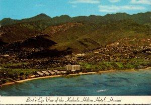 Hawaii Oahu Birds Eye View Of Kahala Hilton Hotel