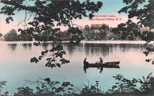 Cromwell Lake Central Valley, New York Postcard