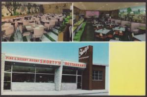 Shorty's Restaurant,Milwaukee,WI Postcard