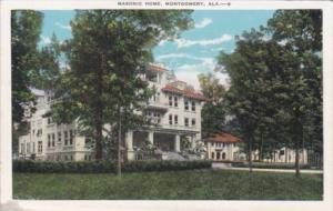 Alabama Montgomery The Masonic Home