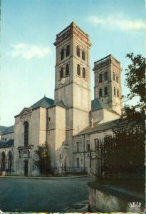 France, Verdun, La Cathedrale, The Cathedral, 1960 marked