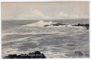 Surf at Nahant, Mass - Rotograph