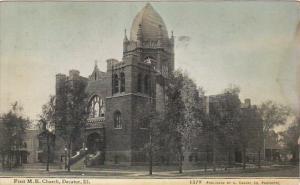 Illinois Chicago First M E Church 1910