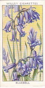 Wills Vintage Cigarette Card Wild Flowers 1936 1st Series No 2 Bluebell