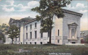 LOUISVILLE, Kentucky, 1900-1910s; Free Public Library