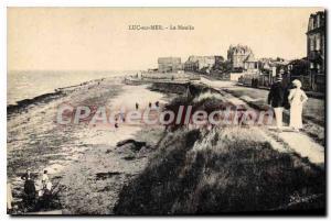 Postcard Old Mill Luc Sur Mer