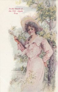 C. Freyschlag ; Girl In the shade of the Old Apple Tree, 00-10s