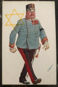 1938 Germany Mint Postcard Eternal Jew Museum Exhibit The General B