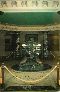 Crypt of John Paul Jones U S Naval Academy Annapolis Maryland Postcard