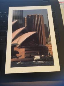 The Sydney Regent Hotel Australia Large Postcard 5-1/2 x 7-3/4