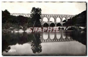 Old Postcard The Pont du Gard Municipality to built 19 years before J C clutched