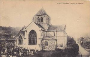 Eglise St-Germain, Cemetery, Pont-Audemer (Eure), France, 1900-1910s