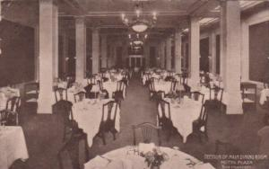 California San Francisco Interior Section Of Main Dining Room Hotel Plaza 1916
