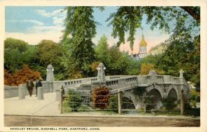 CT - Hartford. Bushnell Park. Hoadley Bridge