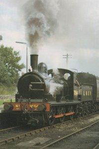 North Norfolk Train 0-6-0 J15 at Sheringham Station Postcard