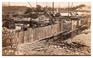 Vermont   South Cotter ,  Building a dam   RPC ,  DPO 3 Dummer NH