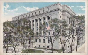 New York White Plains County Court House Curteich