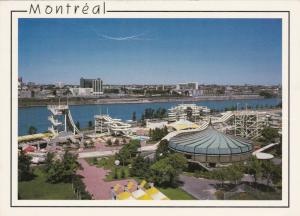 MONTREAL, Quebec, Canada, PU-1968; Montreal Waterpark, Water Slides