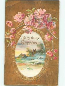 Divided-Back BEAUTIFUL FLOWERS SCENE Great Postcard AA3108