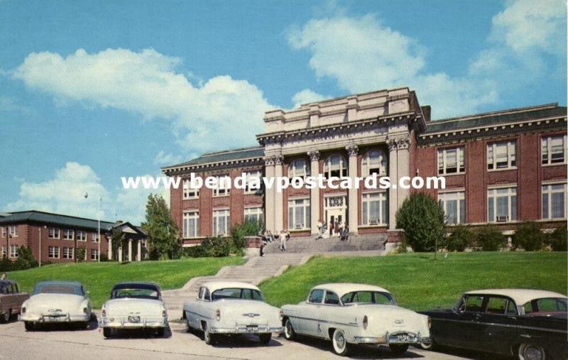 Jackson, Mississippi, Millsaps College, Murrah Hall, Cars (1950s)