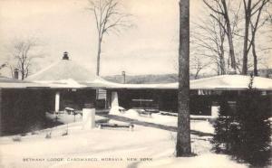 Moravia New York Casowasco Bethany Lounge Exterior Antique Postcard K83114