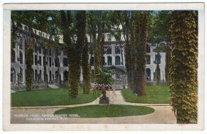 Saratoga Springs, N.Y., Interior Court, United States Hotel