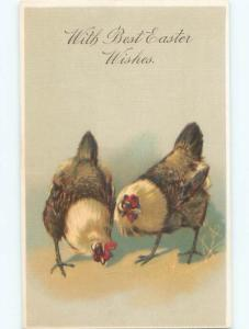 Divided-Back EASTER SCENE Great Postcard AA1445