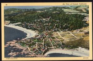 California ~ Air View of CARMEL - LINEN