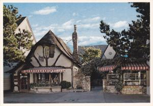 Tudor-style architecture shop, CARMEL-by the SEA, California, 50-70s