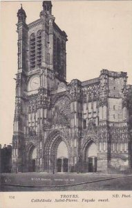 France Troyes Cathedrale Saint Pierre Facade Ouest