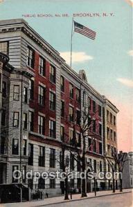 Brooklyn, NY, USA Postcard Post Card Public School