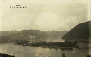 romania, ADA-KALEH, Island on Danube River (1930s) RPPC Postcard