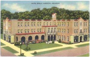 Hotel Seville, Harrison, Arkansas, AR, Linen