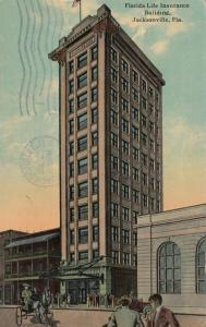 JACKSONVILLE , Florida , 1913 ; Florida Life Insurance Bldg