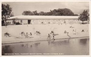 RP: Swimming Pool , Pageant Beach Hotel , GRAND CAYMAN , B.W.I. , 30-40s