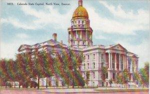 Colorado State Capitol North View Denver Colorado